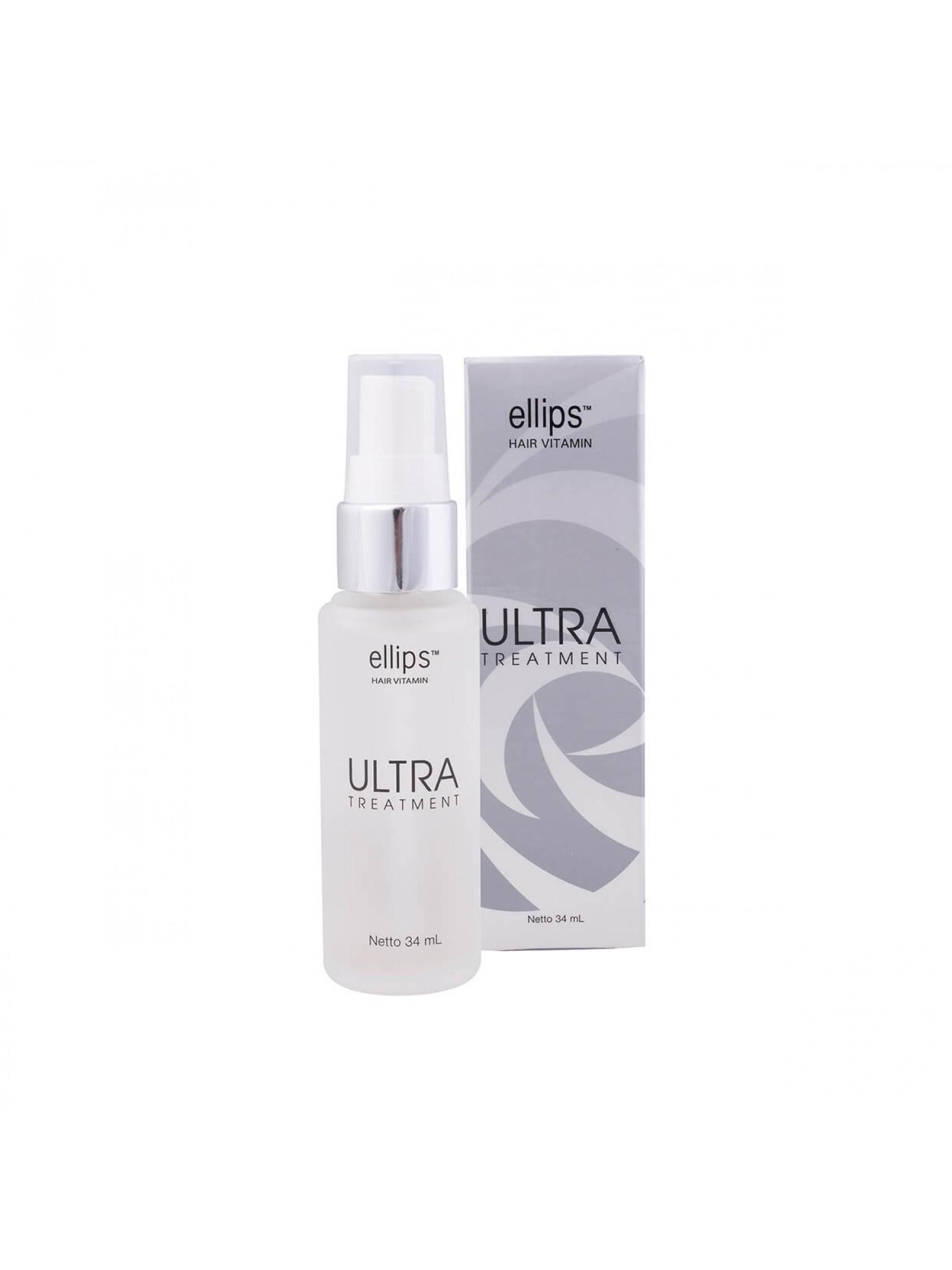 Витамины для волос Ультра Терапия с Вечным цветком и маслом Камелии (34мл)