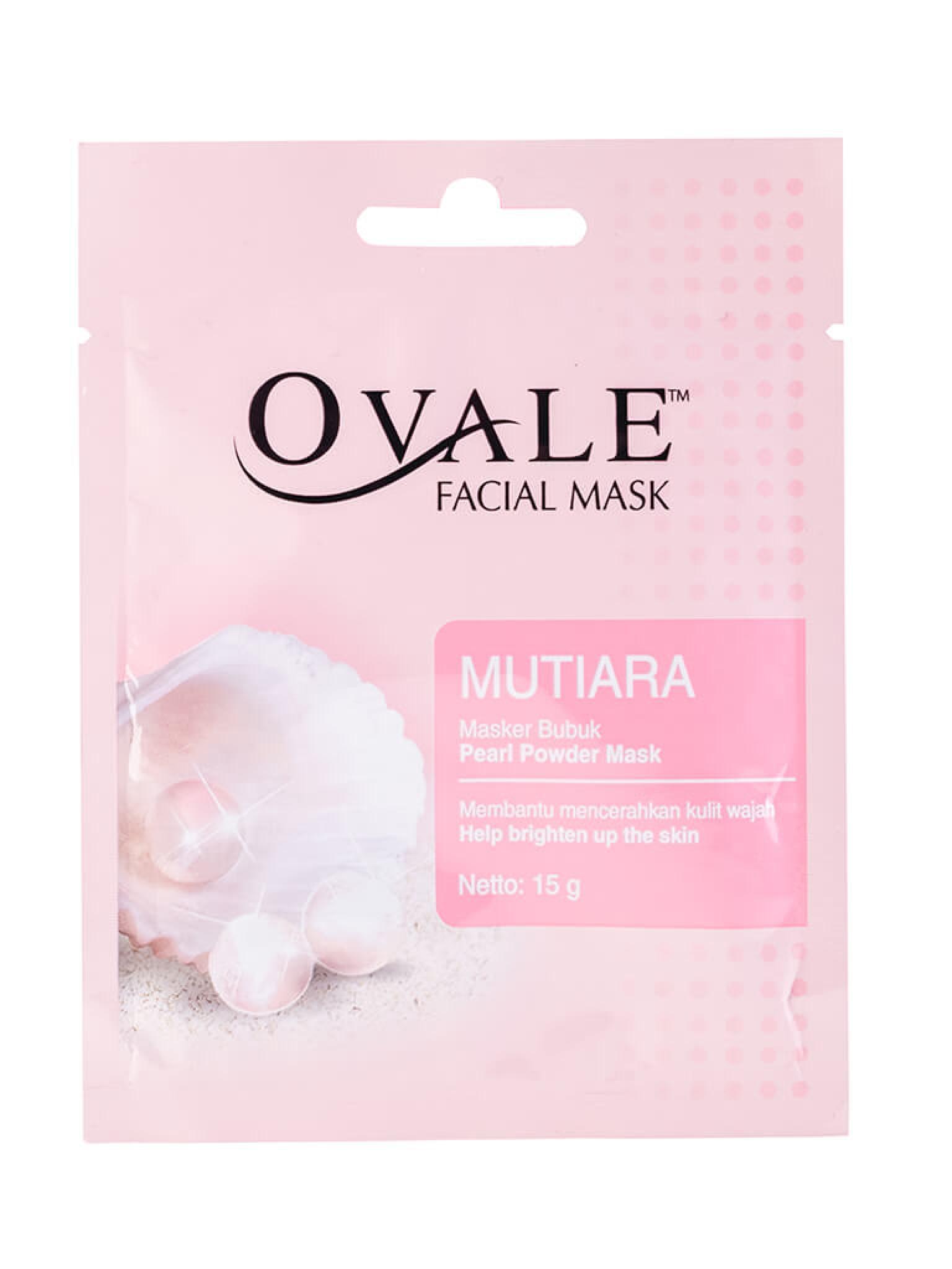Порошковая маска с витамином В3 и экстрактом жемчуга