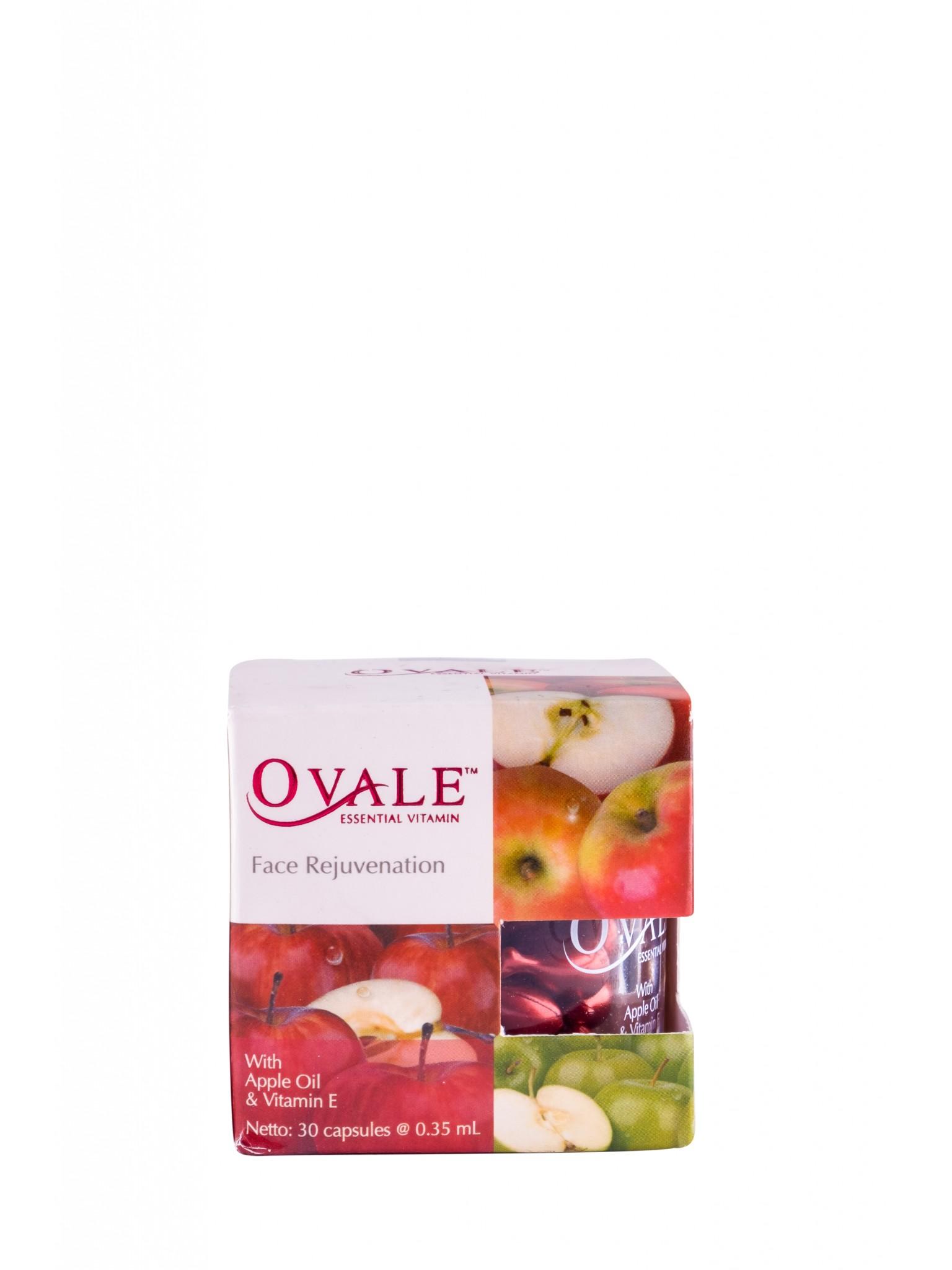 Омоложение лица с витамином Е и маслом семян Яблока, капсулы, 30 шт