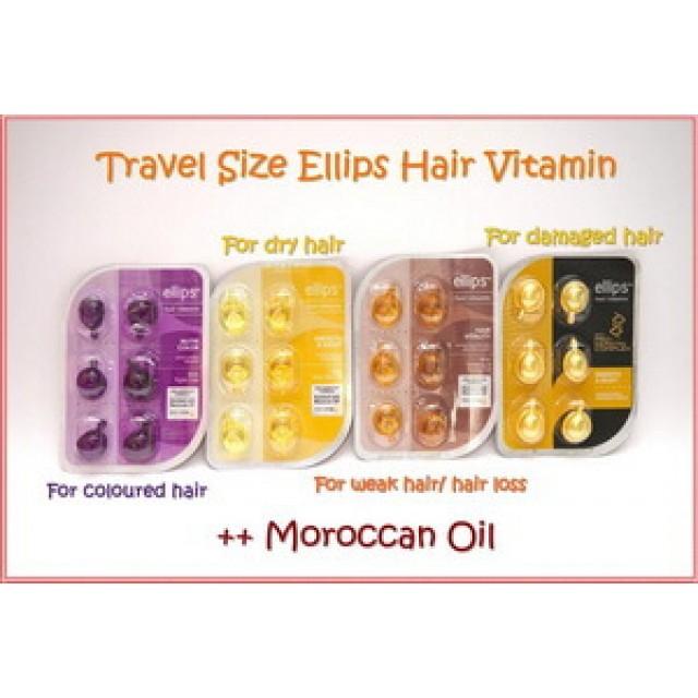 Ellips – самые лучшие витамины для волос