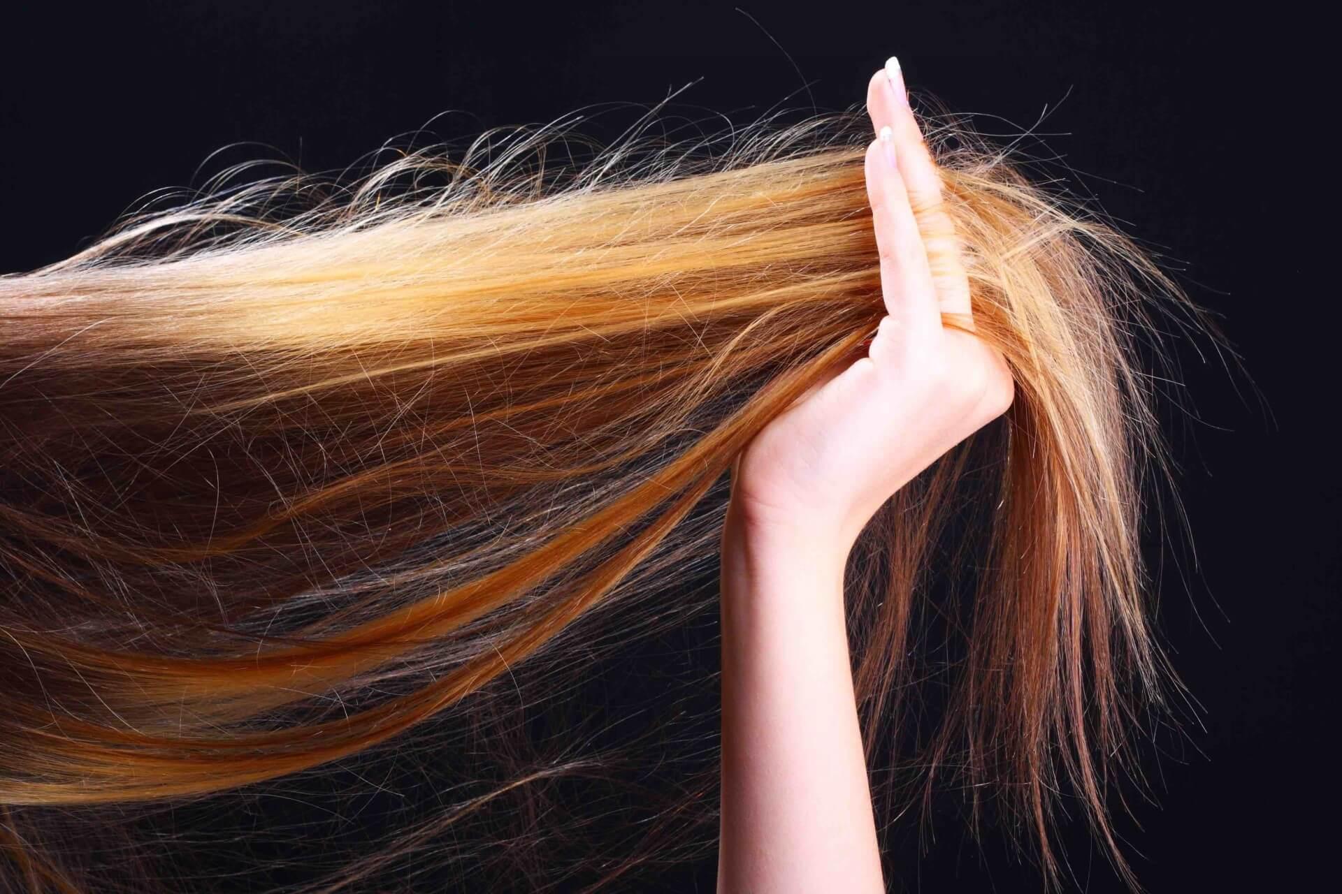 Почему волосы стали сухими