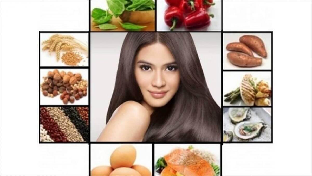 Какие есть продукты, если секутся волосы