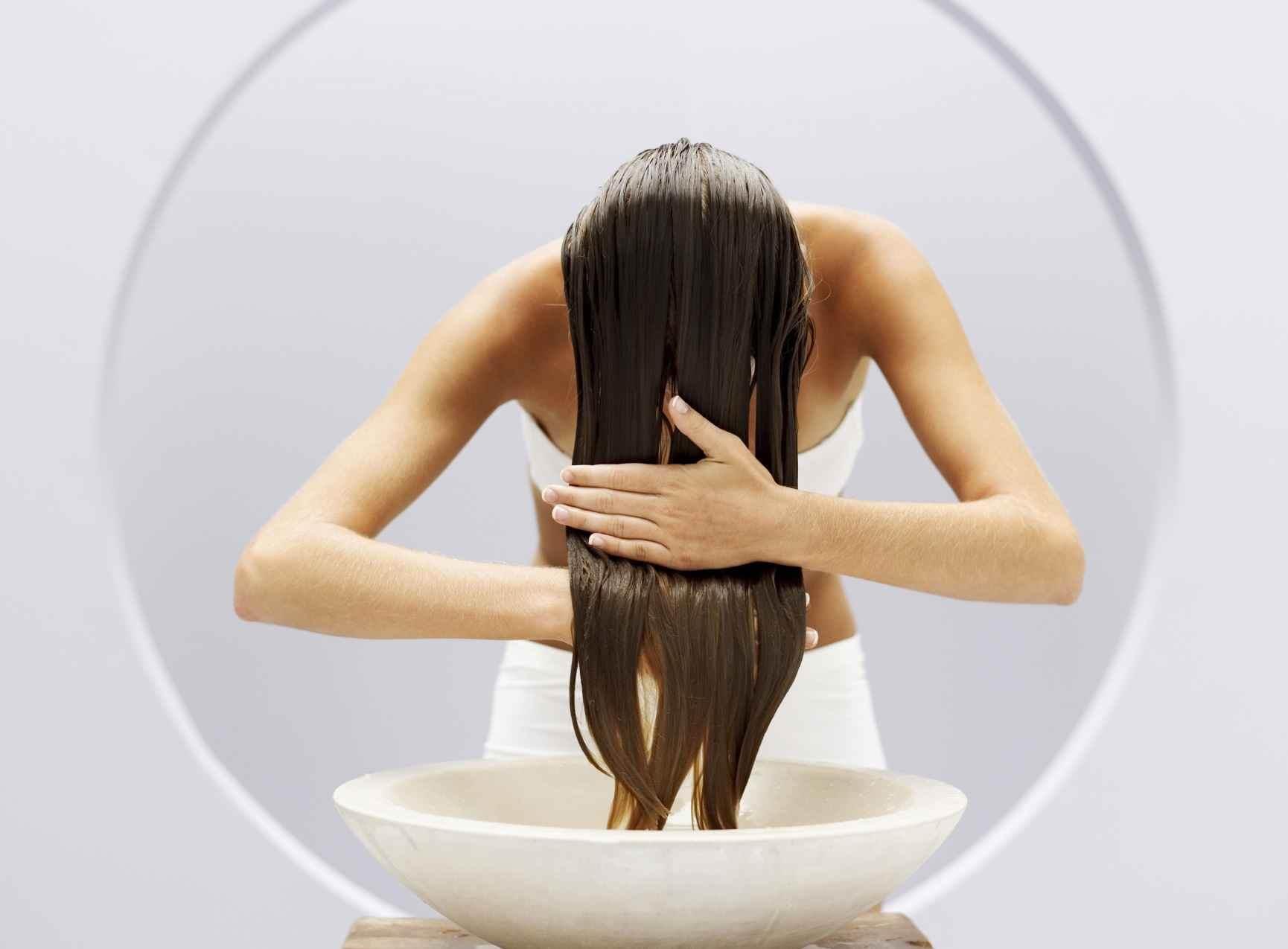 Несмываемые витамины для сухих волос